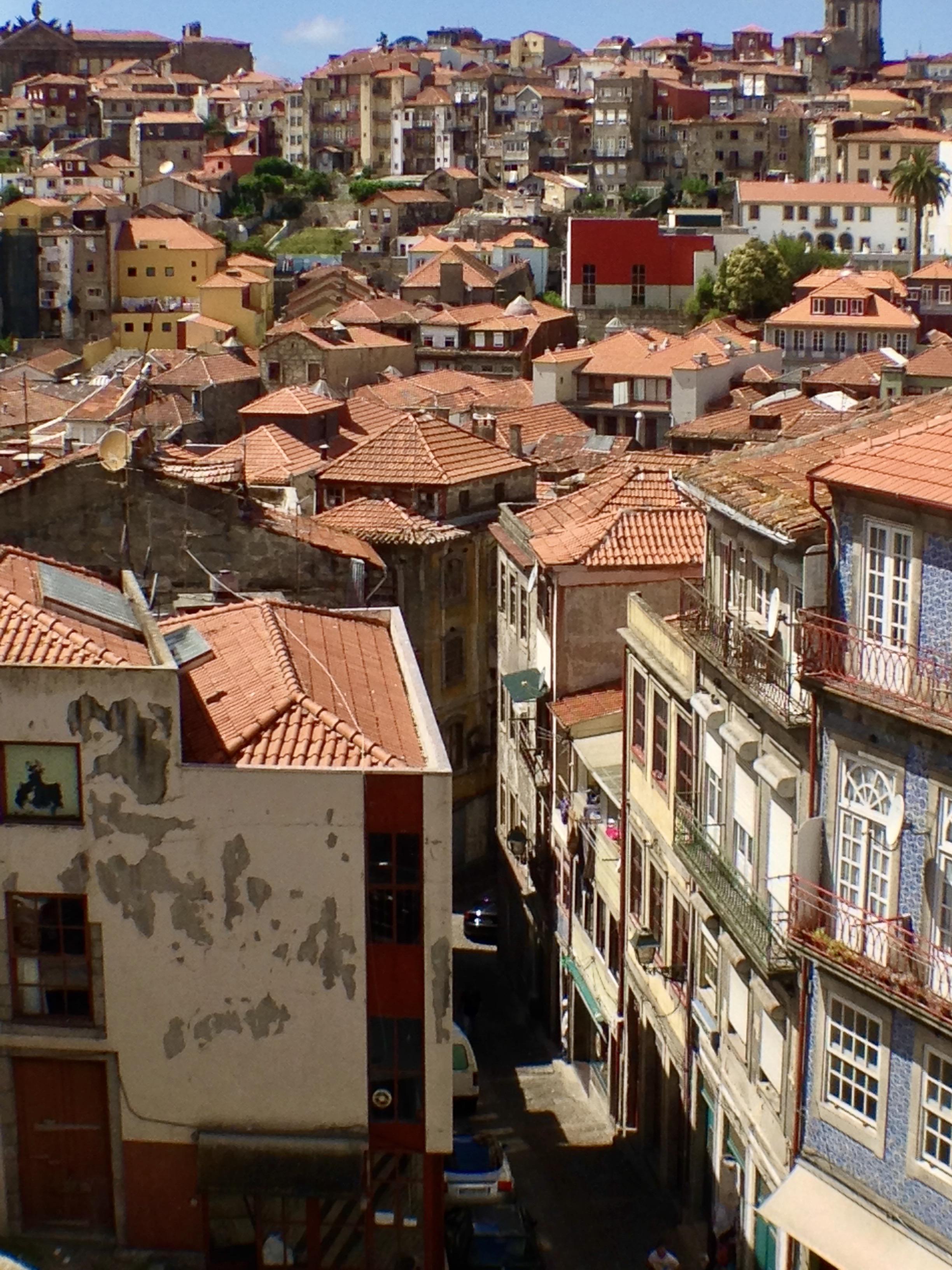 Vue sur les toit de Porto