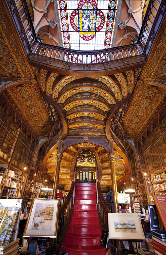 Comment Harry Potter à sauver la librairie Lello