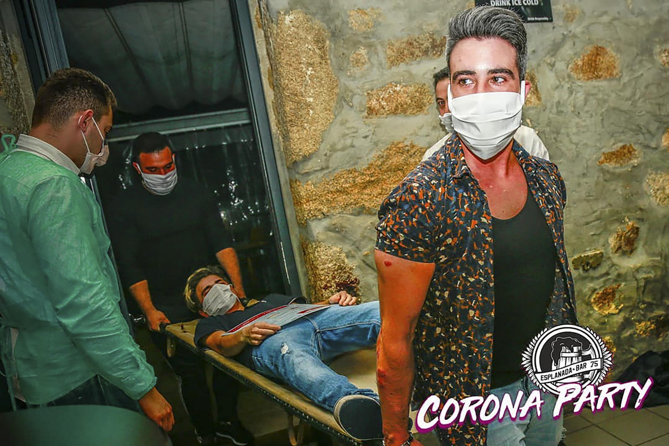 Corona Party la soirée qui fait débat